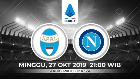Napoli akan kembali melanjutkan perjuangannya di kancah Serie A Italia 2019-2020 dengan bertandang ke markas SPAL pada pekan ke-9 - INDOSPORT