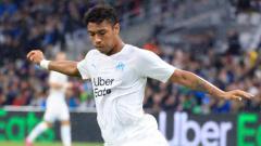 Indosport - Boubacar Kamara pada laga saat melawan RC Strasbourg
