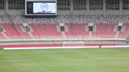 Venue Utama PON XX Papua, Stadion Papua Bangkit yang sudah selesai 100 persen. - INDOSPORT