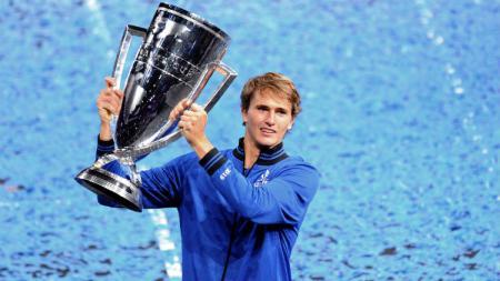 Alexander Zverev di Laver Cup 2019. - INDOSPORT