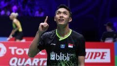 Indosport - Tunggal putra Indonesia, Jonatan Christie, masih punya kans agar bisa lolos ke BWF World Tour Finals 2019.
