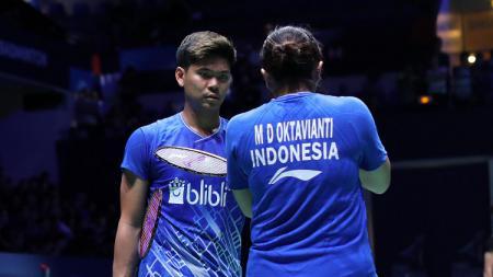 Praveen Jordan/Melati Daeva jadi unggulan pertama untuk bisa meraih medali emas bulutangkis SEA Games 2019, namun 2 pasangan Malaysia berpotensi menggagalkan. - INDOSPORT
