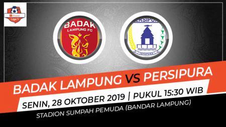 Pertandingan Badak Lampung vs Persipura Jayapura. - INDOSPORT