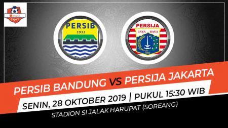 Pertandingan Persib Bandung vs Persija Jakarta. - INDOSPORT