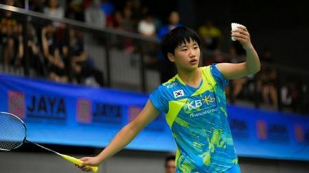 An Se Young, pebulu tangkis Korea Selatan berusia 17 tahun yang membuat kejutan di French Open 2019 - INDOSPORT