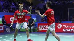 Indosport - Pasangan ganda putra andalan Indonesia Kevin Sanjaya/Marcus Gideon berpeluang ukir rekor jika juara Hong Kong Open 2019.