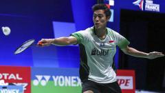 Indosport - Pebulutangkis Shesar Hiren Rhustavito berhasil melangkah ke babak perempatfinal SEA Games 2019 usai mengalahkan wakil Kamboja, Leng Sopheaktra.