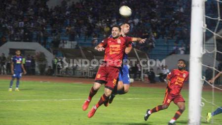 Jalannya laga Liga 1 2019 antara PSIS Semarang vs Borneo FC di Stadion Moch Soebroto, Magelang, Sabtu (26/10/2019). - INDOSPORT