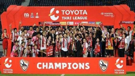 Chiangrai juara Liga Thailand 2019. - INDOSPORT