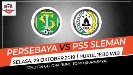 Pertandingan Persebaya Surabaya vs PSS Sleman. - INDOSPORT