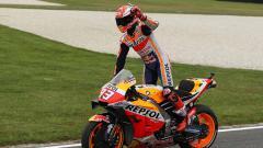 Indosport - Pembalap Repsol Honda, Marc Marquez menyatakan bahwa dirinya tak tahu kapan cedera bahu yang dideritanya akan pulih jelang dimulainya MotoGP 2020.