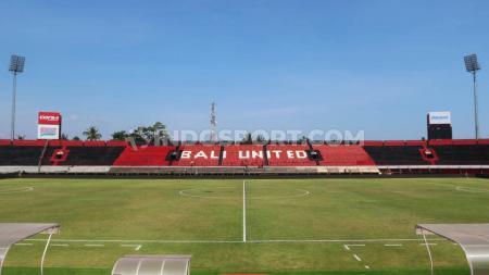 Stadion I Wayan Dipta, Gianyar, Bali, masih bisa digunakan Bali United untuk Piala AFC hingga Maret. - INDOSPORT