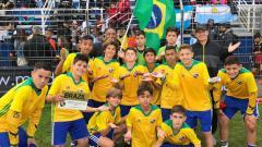 Indosport - Juara di Brasil, Wonderkid Banjarmasin Dapat Hadiah Khusus Dari Neymar