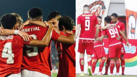 Manchester United dan Persija Jakarta patut berbangga bisa memiliki bek termahal di dalam skuatnya. Namun kenyataan yang berjalan kini, justru memunculkan fakta lain. - INDOSPORT