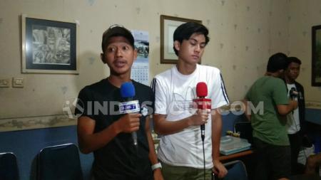 Penggawa Timnas Indonesia U-19 seperti Beckham Putra dan Rendy Juliansyah, hadir langsung dalam pembukaan Liga Topskor U-13 2019. - INDOSPORT