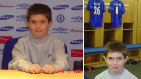 Christian Pulisic yang diduga semasa kecil mendukung Manchester United ternyata mengidolai Chelsea yang kini menjadi tim yang dibelanya - INDOSPORT