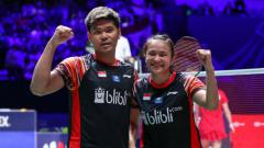Indosport - Ganda campuran Indonesia, Praveen Jordan/Melati Daeva Oktavianti, mendapatkan peringatan dari Vita Marissa karena mulai inkonsisten.