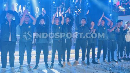 EVOS eSports saat menjuarai turnamen Mobile Legends Professional League (MPL) Indonesia season 4. - INDOSPORT