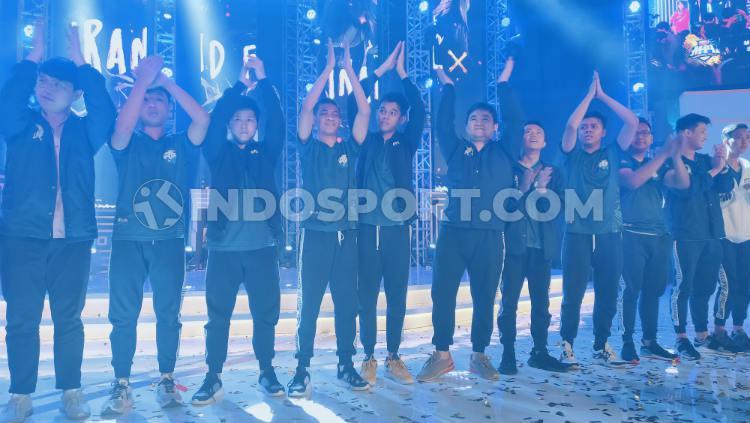 EVOS eSports berhasil menjuarai turnamen Mobile Legends Professional League (MPL) Indonesia season 4 Copyright: Martini/INDOSPORT