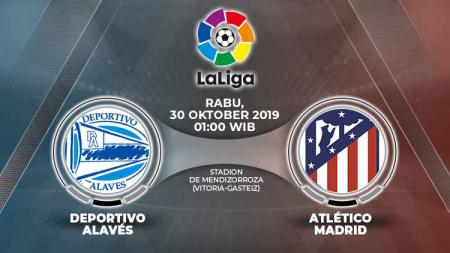 Pertandingan Deportivo Alaves vs Atletico Madrid. - INDOSPORT