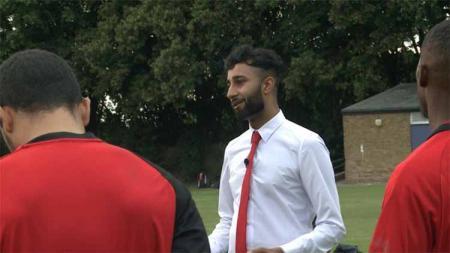 AC London, klub yang dibentuk oleh pemuda 16 tahun Prince Choudary. - INDOSPORT