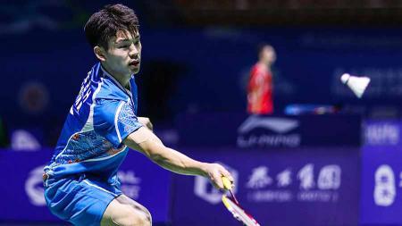 Pebulu tangkis Ye Binghong mengalahkan wakil Kanada dengan skor Afrika di Macau Open 2019. - INDOSPORT