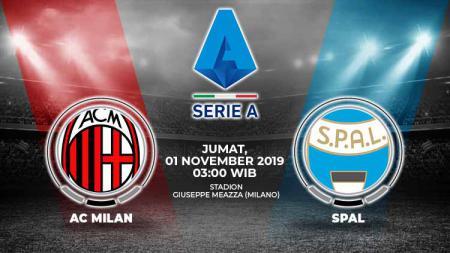 Prediksi pertandingan Liga Serie A Italia antara AC Milan vs SPAL pada Jumat (1/11/19) dini hari WIB, laga ini jadi kesempatan bangkit skuat Rossoneri. - INDOSPORT