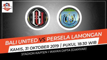 Prediksi pertandingan Liga 1 antara Bali United vs Persela Lamongan pada pekan ke-26, Kamis (31/10/19), pukul 18.30 WIB, di Stadion Kapten I Wayan Dipta. - INDOSPORT