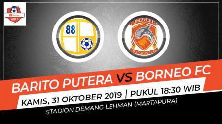 Barito Putera harus melakoni pertandingan derby Kalimantan melawan Borneo FC di pekan ke-26 Liga 1 2019, Kamis (31/10/19). - INDOSPORT