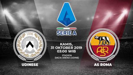 AS Roma diperkirakan mampu memanfaatkan kondisi Udinese yang sedang terpuruk dalam pekan kesepuluh Serie A Italia, Kamis (31/10/19) pukul 03.00 WIB. - INDOSPORT