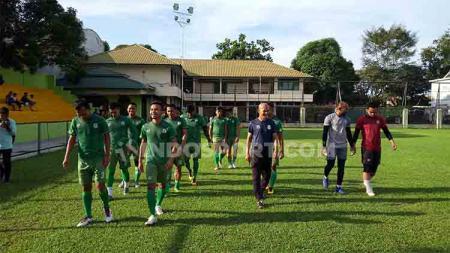 Jelang bergulirnya babak 8 besar Liga 2 2019, PSMS Medan malah mendapat hambatan berupa sejumlah pemainnya yang mengalami sakit. - INDOSPORT