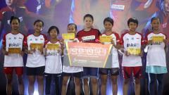 Indosport - Peserta Audisi Beasiswa Bulutangkis Seri Soloraya