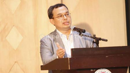 Keputusan Vijaya Fitriyasa dari bursa pemilihan Ketua Umum PSSI periode 2019-2023 mendapat sorotan, tidak terkecuali dari Presiden Pasoepati. - INDOSPORT