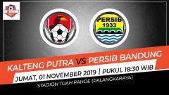 Indosport - Laga pekan ke-26 Shopee Liga 1 antara Kalteng Putra melawan Persib Bandung, Jumat (1/11/19) pukul 18.30 WIB, bisa disaksikan lewat live streaming di Vidio.com.