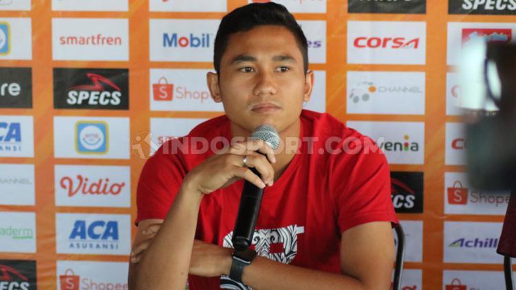 Bek Bali United, Ricky Fajrin. Copyright: Nofik Lukman Hakim/INDOSPORT