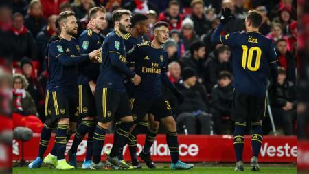 Gabriel Martinelli, wonderkid raksasa Liga Inggris, Arsenal, layak disandingkan dengan pesepak bola terbaik sepanjang masa, Ronaldo. - INDOSPORT