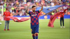 Indosport - Semenjak adanya Ronald Koeman sering banyak drama, Lionel Messi akhirnya sampaikan kabar bahagia bagi raksasa LaLiga Spanyol, Barcelona.