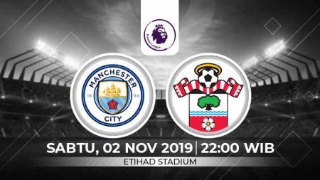 Prediksi Manchester City vs Southampton - INDOSPORT