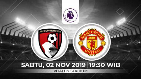 Prediksi Pertandingan Liga Inggris Bournemouth vs Manchester United. - INDOSPORT