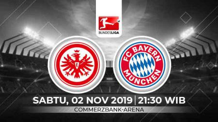 Bayern Munchen akan bertandang ke markas Eintracht Frankfurt dalam lanjutan pekan ke-10 Bundesliga Jerman 2019/20, Sabtu (02/11/19) pukul 21.30 WIB. - INDOSPORT