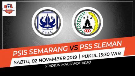 Prediksi pertandingan Shopee Liga 1 2019 antara PSIS Semarang vs PSS Sleman pada pekan ke-26, Sabtu (02/11/19), pukul 15.30 WIB, di Stadion Maguwoharjo. - INDOSPORT