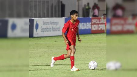 Pemain Timnas Indonesia U-16, Alfin Farhan Lestaluhu, meninggal dunia setelah sebelumnya mejalani perawatan intensif di Rumah Sakit Royal Progress, Jakarta Utara, Kamis (31/10/19). - INDOSPORT