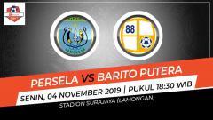 Indosport - Pembuka pekan ke-27 Shopee Liga 1 2019 akan menyajikan laga antara Persela Lamongan melawan Barito Putera di Stadion Surajaya, Senin (4/11/19), pukul 18.30 WIB.