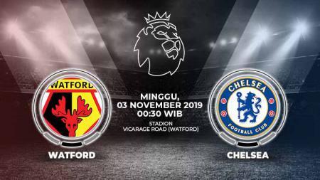 Berikut prediksi pertandingan Liga Inggris pekan ke-11 antara Watford FC vs Chelsea di Stadion Vicarage Road, Minggu (03/11/19) WIB - INDOSPORT