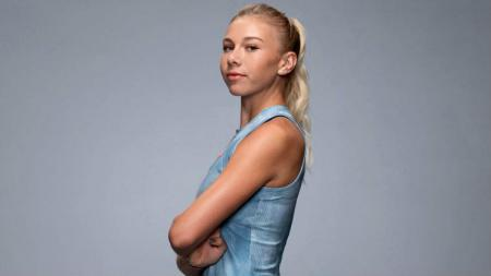 Amanda Anisimova, petenis muda asal Amerika Serikat yang digadang-gadang jadi The Next Maria Sharapova. - INDOSPORT