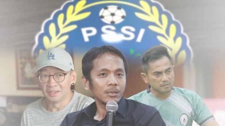 Justinus Lhaksana, Akmal Marhali, dan Seto Nurdiyantoro - INDOSPORT