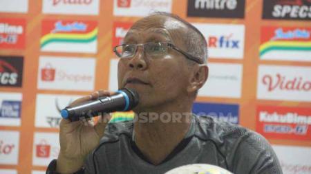 Bambang Nurdiansyah, perwakilan Asosiasi Pelatih Sepak bola Seluruh Indonesia (APSSI) yang mengikuti rapat dengan perwakilan PSSI secara virtual. - INDOSPORT