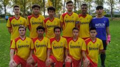 Indosport - Dennish Diaz Himawan mencetak quattrick dan membantu Club Deportivo Internacional de la Amistad C mengalahkan CD Guardense