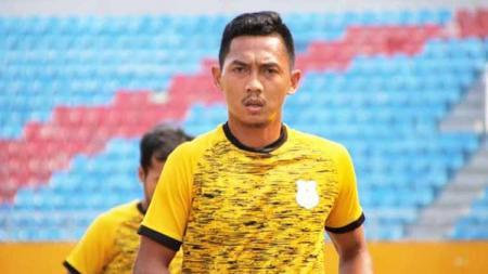 Pemain PSMS Medan, Afiful Huda, buka suara soal calon lawan timnya di Edy Rahmayadi Cup, Felda United. - INDOSPORT