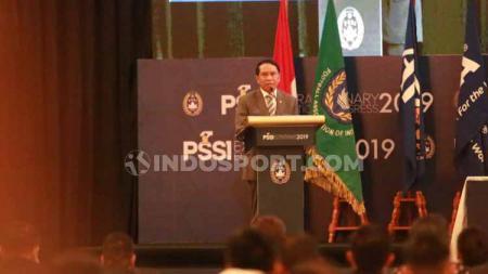 Menteri Pemuda dan Olahraga (Menpora) Zainudin Amali percaya bahwa Indonesia mampu menyelenggarakan Piala Dunia U-20 2021 mendatang dengan baik. - INDOSPORT